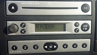 Ford 4500 RDS EON Radio