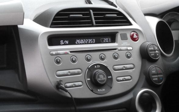 How to Find Honda Radio Serial Code From the Radios Display
