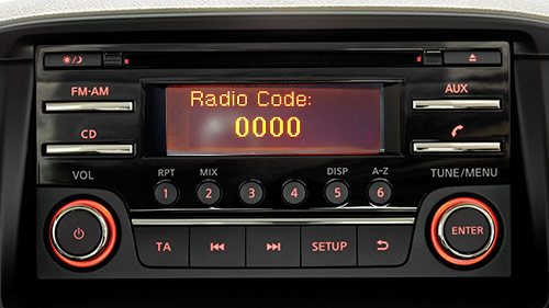 Nissan® Juke Radio Codes - Official | UK's No 1 Radio Code