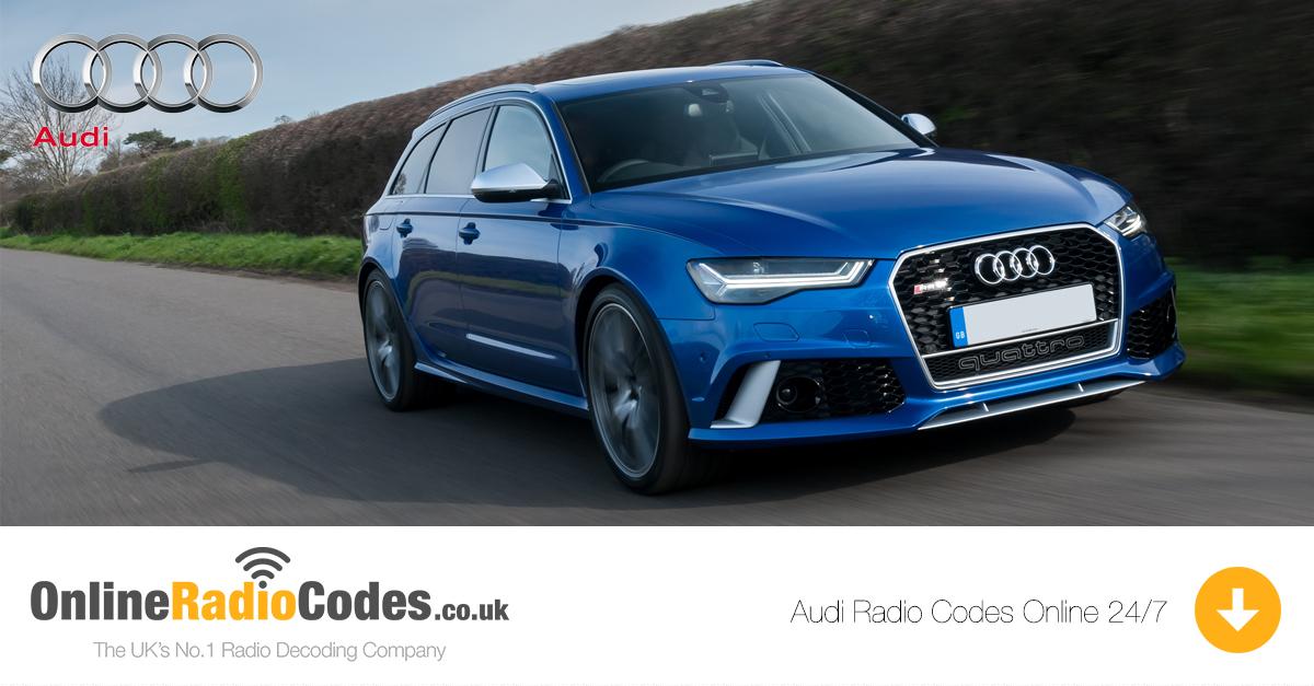 2004 Audi A4 Radio Code - Car Audi