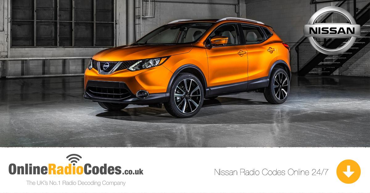 Nissan Radio Codes