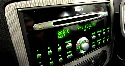 Ford Radio Code 6000CD Serial Display